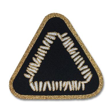 Warpaint Triangle Logo Woven Patch - Black