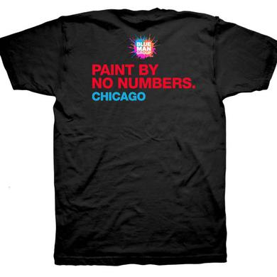 Blue Man Group Paint By No Numbers Tee - CHICAGO