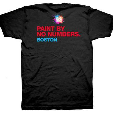 Blue Man Group Paint By No Numbers Tee - BOSTON