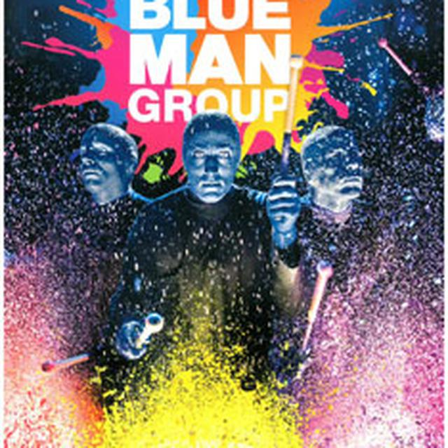 Blue Man Group Roll Poster