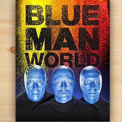 Blue Man Group Blue Man World Book