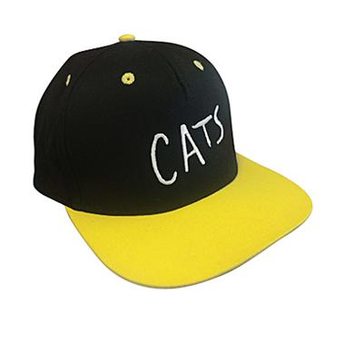 CATS Yellow Flat Brim Cap