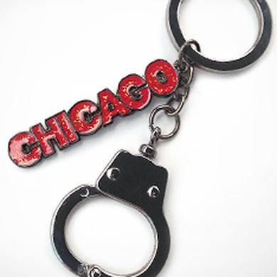 Chicago The Musical Handcuff Keychain