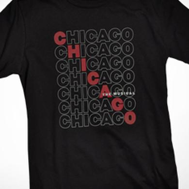 Chicago The Musical Repeat Logo T-Shirt