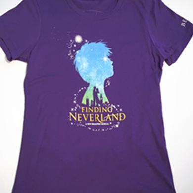 Finding Neverland Ladies Show T-Shirt
