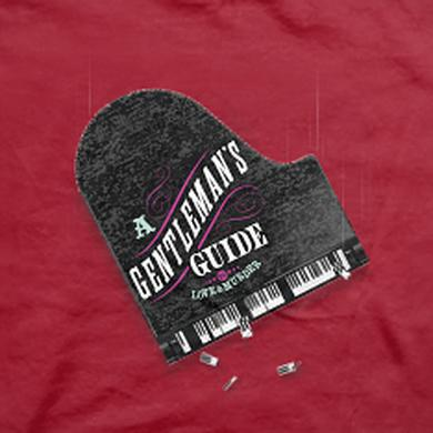 Gentlemans Guide A Gentleman's Guide... Show Red T-Shirt