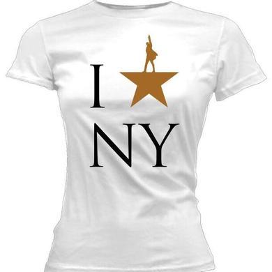 Hamilton I Star NY Ladies Tee
