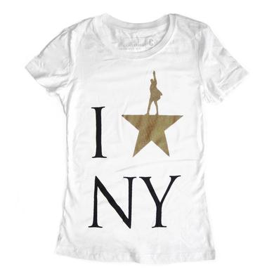 Hamilton I Star NY Ladies Tee