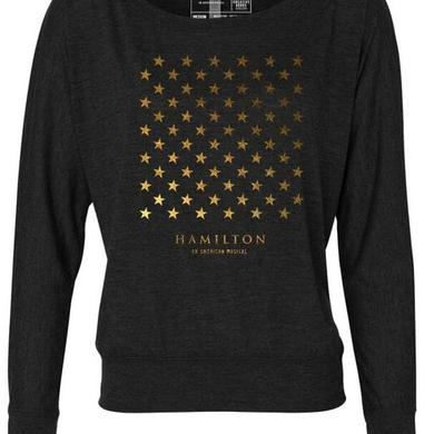Hamilton Star Grid Ladies Long Sleeve Tee