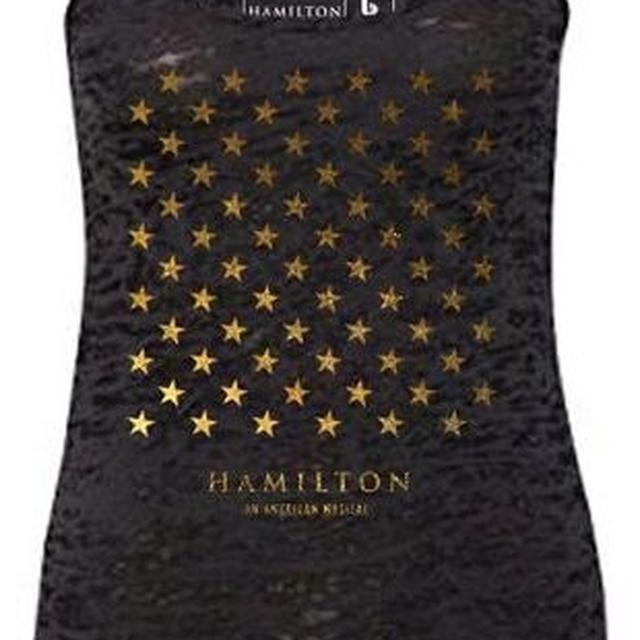 Hamilton Star Grid Ladies Racerback Tank