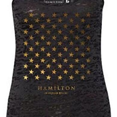 Hamilton Star Grid Ladies Racerback Tank