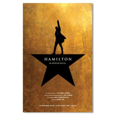 Hamilton Windowcard Poster - Chicago