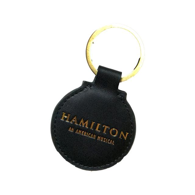 Hamilton Leather Keychain
