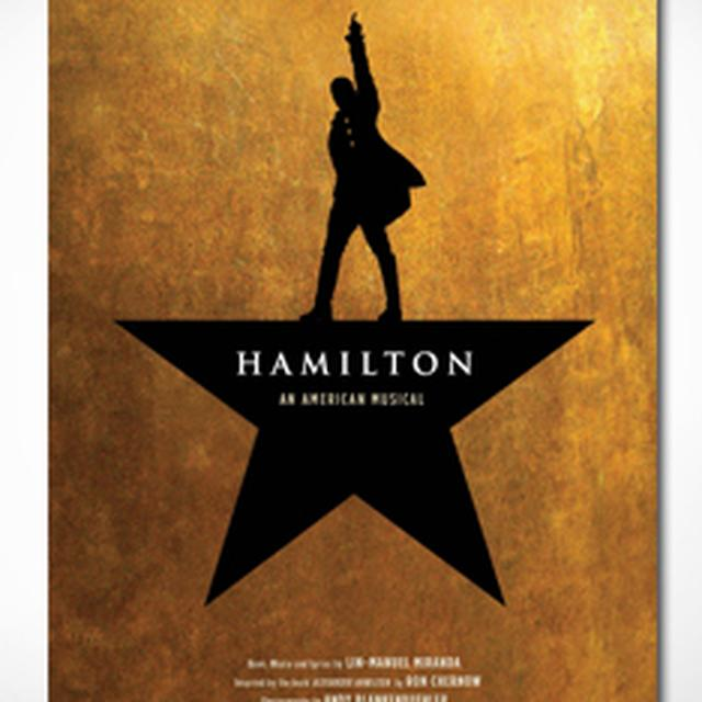 Hamilton Windowcard Poster - NY