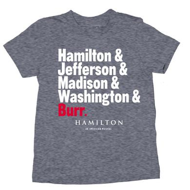 Hamilton Names Youth T-Shirt