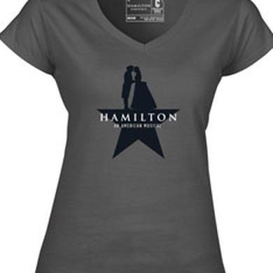 Hamilton Ladies Star V-Neck T-Shirt
