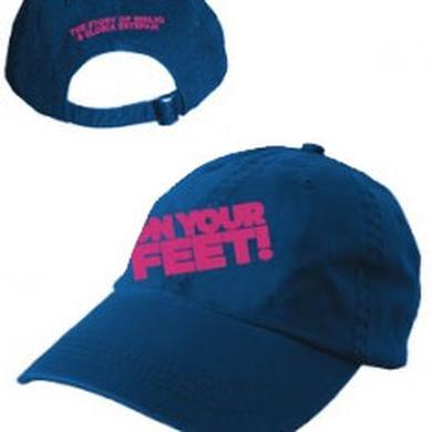 ON YOUR FEET: THE STORY OF EMILIO & GLORIA On Your Feet Blue Baseball Cap