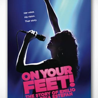 ON YOUR FEET: THE STORY OF EMILIO & GLORIA On Your Feet Windowcard Poster