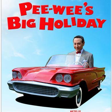 Pee-wee Herman Pee-wee's Big Holiday Car Sticker