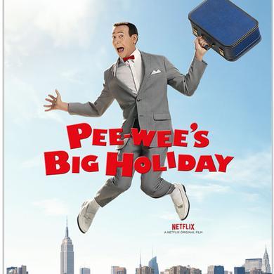 Pee-wee Herman Pee-wee's Big Holiday Sticker