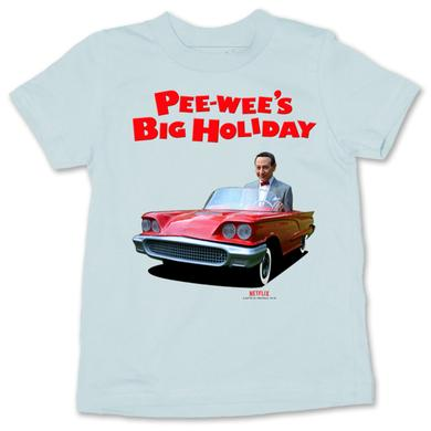 Pee-wee Herman Pee-wee's Mini Car Youth T-Shirt