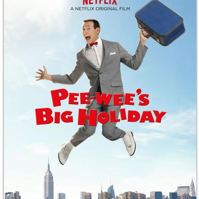 Pee-wee Herman Pee-wee's Big Holiday Poster