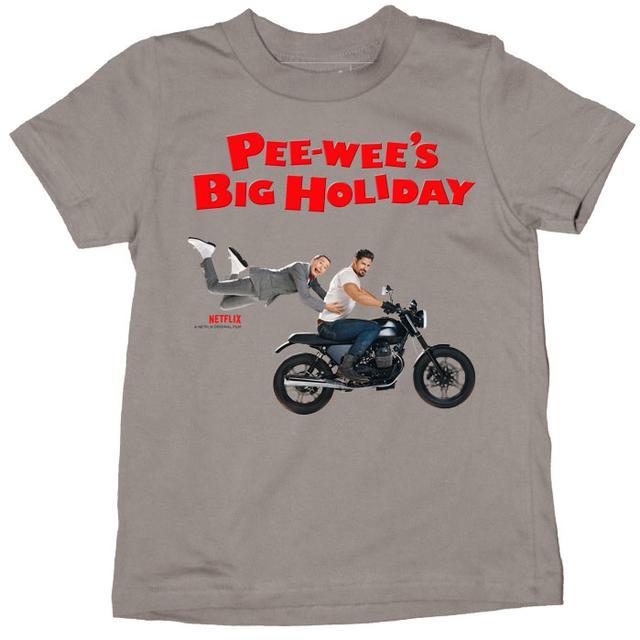 Pee-wee Herman Pee-wee's Motorcycle Youth T-Shirt