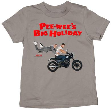 Pee-wee Herman Pee-wee's Motorcycle Youth T-Shirt