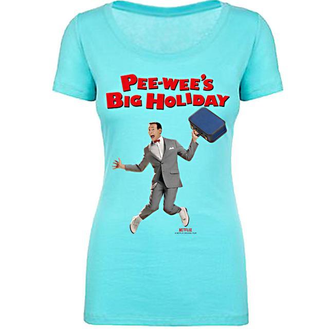 Pee-wee Herman Pee-wee's Big Holiday Ladies Tee