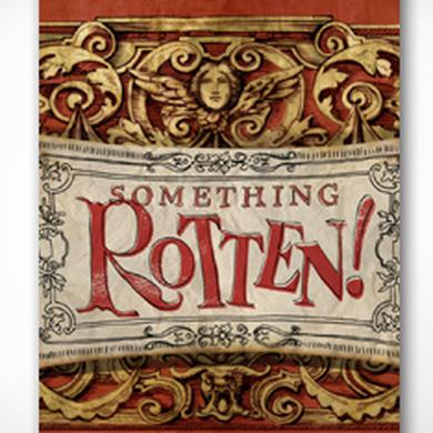 Something Rotten Souvenir Program Book