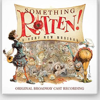 Something Rotten Broadway Cast CD