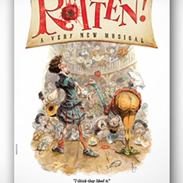 Something Rotten Windowcard Poster