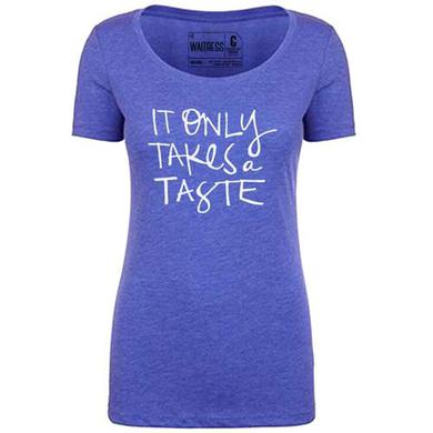 WAITRESS Only A Taste Tee