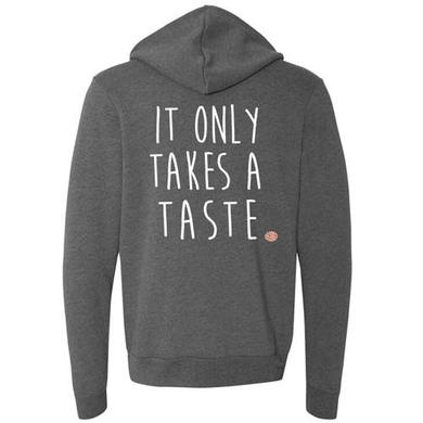 WAITRESS Only A Taste Zip Hoodie