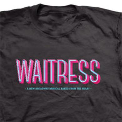 Waitress Black Unisex Show T-Shirt