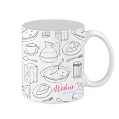 Waitress Ceramic Mug