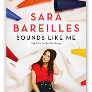 Waitress Sara Bareilles - Sounds Like Me Book