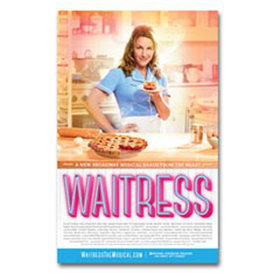 Waitress Windowcard