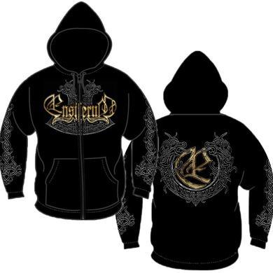 Ensiferum Logo & Dragon Zip Hoodie