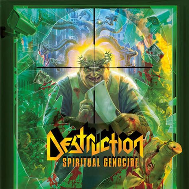 Destruction Spiritual Genocide CD
