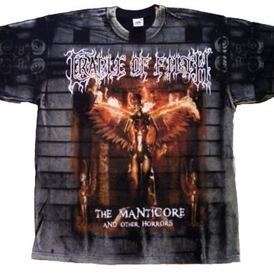 Cradle Of Filth Manticore Cover Allover Tee