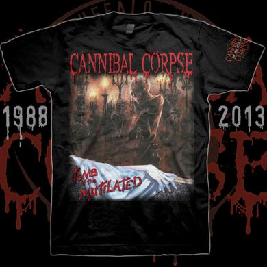 Cannibal Corpse Tomb Of The Mutilated Censored Cover T-shirt
