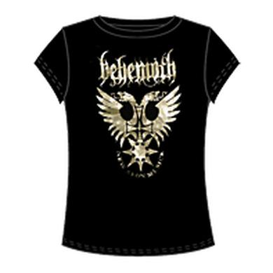 Behemoth Foil Eagle Ladies Tee