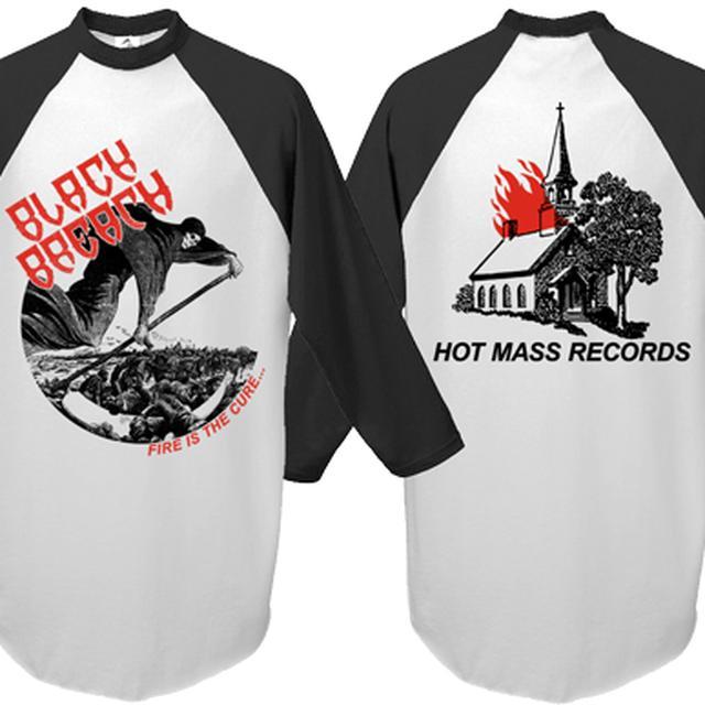 Black Breath Fire is the Cure Baseball Shirt