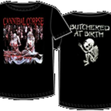 Cannibal Corpse-Butched at Birth on Back Tee