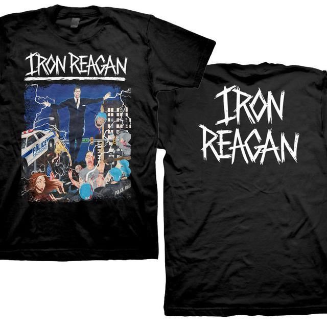 Iron Reagan Floating Reagan Design T Shirt