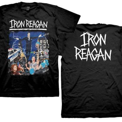 Iron Reagan Floating Reagan Design T-Shirt
