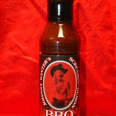 Johnny Winter Screamin Demon BBQ Sauce