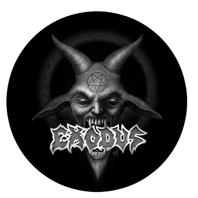 Exodus Demon Logo Die-Cut Sticker