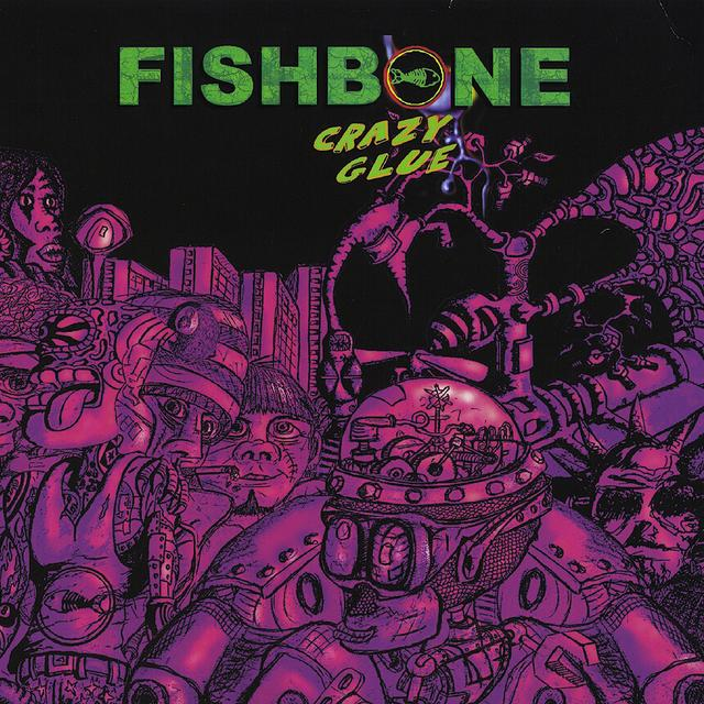 Fishbone: Crazy Glue Clear Green VinylVinyl LP Record